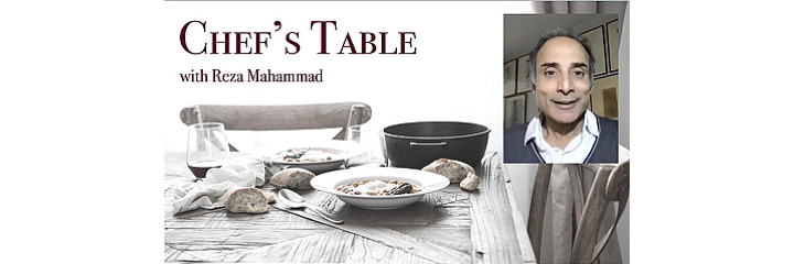 chefs table header